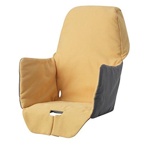 Ikea 303.469.86 LANGUR Sitzbezug/Polst für Hochstuhl, gelb, Nicht Angegeben