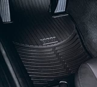 BMW All Weather Front Rubber Floor Mats 525 528 530 535 545 550 M5 (2004-2010) - Black