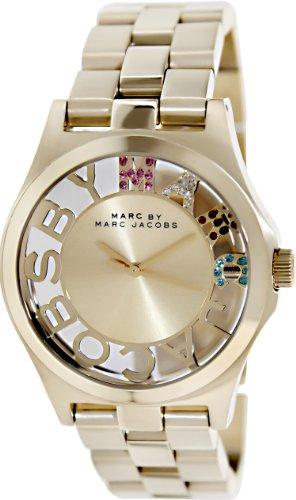 Marc by Marc Jacobs Reloj analogico para Mujer de Cuarzo con Correa en Acero Inoxidable MBM3263