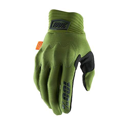 100 Percent Herren Cognito 100% Glove Army Green/black Md Handschuh für besondere Anlässe, Verde Y Negro, Mediano