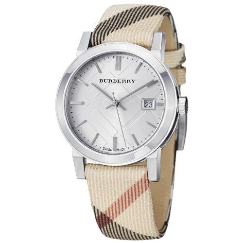 BURBERRY BU9113 - Reloj, Correa de Cuero Color marrón