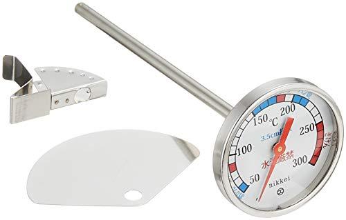 日本計量器工業『キッチン・厨房用バイメタル温度計(油温計)(AAG17)』