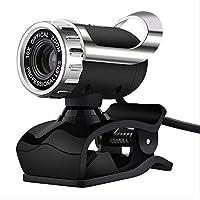 マイク内蔵ウェブカメラ マイクロ高精細ウェブカメラ付きウェブカメラ360度Skypeコンピューター用クリップオンカメラYoutube PcラップトップWindows Xp