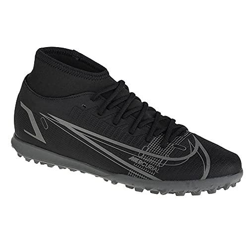 Nike CV0955-004_46, Turf Football Trainers Uomo, Nero, EU