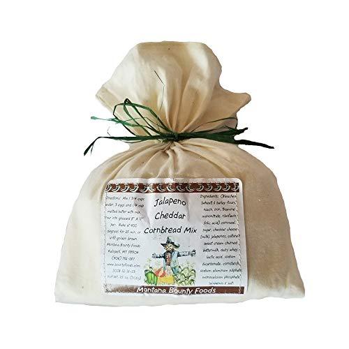 Montana Bounty Foods (Jalapeno Cheddar Cornbread Mix, 25 Ounces)