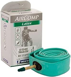 Michelin AirComp Latex 700c Road Inner Tube - A1 Green 700x22/23c Presta 40mm