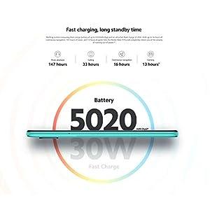 "Redmi Note 9 Pro 6GB RAM 128GB ROM Teléfono móvil Snapdragon 720G 64MP Cámara cuádruple 6.67"" Pantalla 5020mAh NFC Versión Global Blanco"