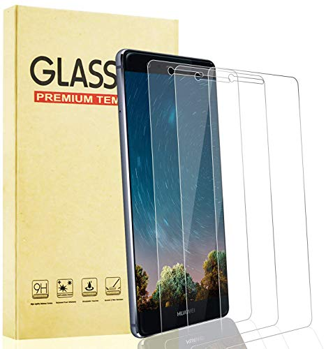Lixuve 3 Pezzi Vetro Temperato per Huawei P9 Lite, Pellicola Protettiva Schermo, Durezza 9H, Anti-Graffio, Alta Definizione