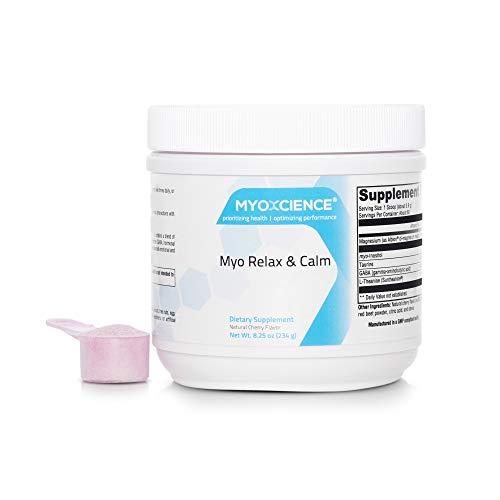 Myo Relax & Calm | Myo-Inositol, L-Theanine, Taurine, Magnesium & GABA | Supports Sleep, Neurotransmitter & Hormone Support