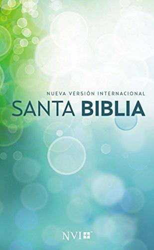 Santa Biblia NVI, Edicion Misionera, Circulos, Rustica.