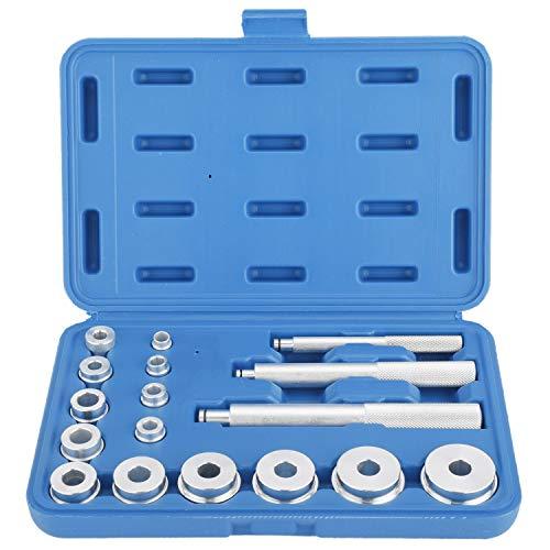FreeTec 17pcs Kit d'outils de roulement de Roues Outil d'extracteur de roulement d'éléments de Pression pour Le Montage et la Remise en état
