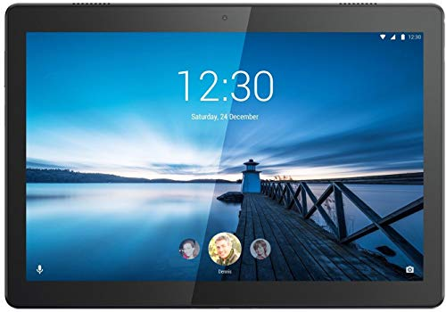 Lenovo Tab M10 Tablet (10.1 inch, 16GB, Wi-Fi + 4G LTE), Slate Black