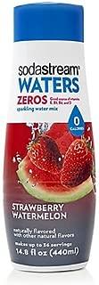 SodaStream Waters Zero Calorie Flavoring Syrup, Strawberry Watermelon, 14.8 Fl Oz