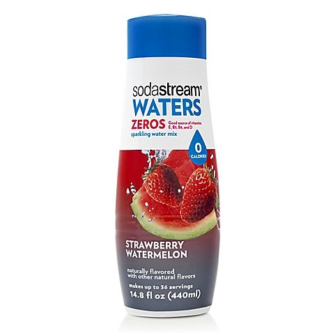 SodaStream Waters Zero Calorie Flavoring Syrup, Strawberry Watermelon, 14.8 Fl Oz