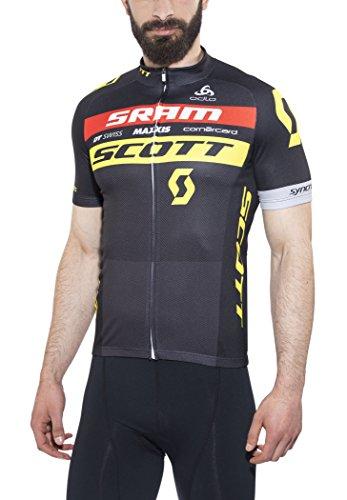 Odlo 491652-Sos17 - Stand-up Collar s/s Full Zip Scott