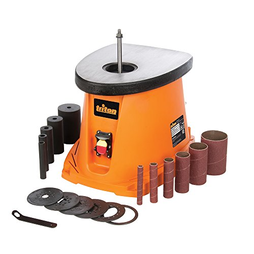 Triton TSPS450 3.5Amp Cast Iron Top Oscillating Spindle Sander, Orange