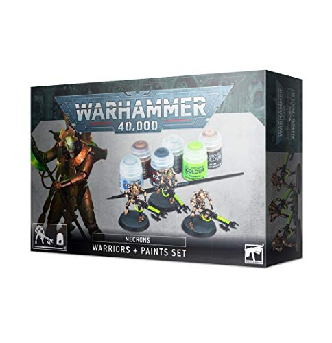 Games Workshop - Warhammer 40,000 - Necron Warriors and Paint Set