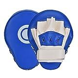 Queta Objetivo de Boxeador, Objetivo de Boxeo Taekwondo Guantes de Boxeo de Mano, Objetivo de Entrenamiento y Descompresión, Almohadillas de Boxeo para Niños Adultos (Azul)
