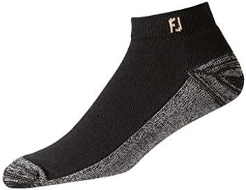 FootJoy ProDry Mens Sport Socks - Black (7-12) - One Pair