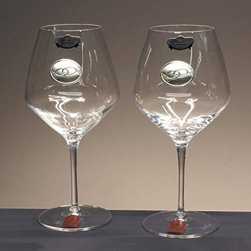 350 x 350 x 187 cm Argent Bredemeijer LV00459 Coupe /à Champagne Classic II Acier Inoxydable