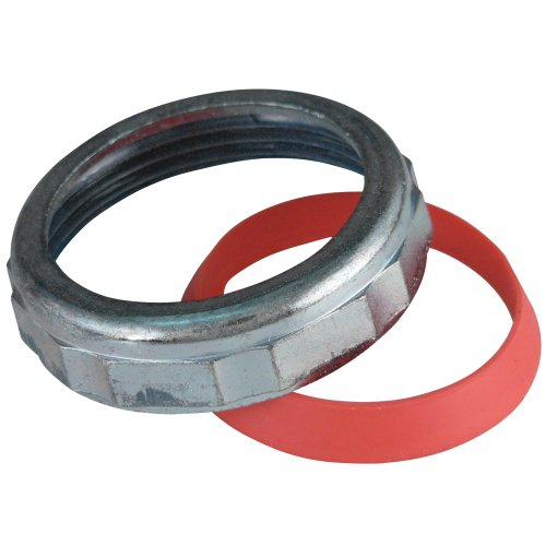Keeney 918DK Slip Joint Nut and Washer, Chrome, 1-1/2-Inch