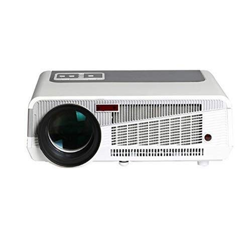Best Bargain SPLY DTEM Wireless HD Projector WiFi 1080P Energy Saving Environmental Protection Mobil...