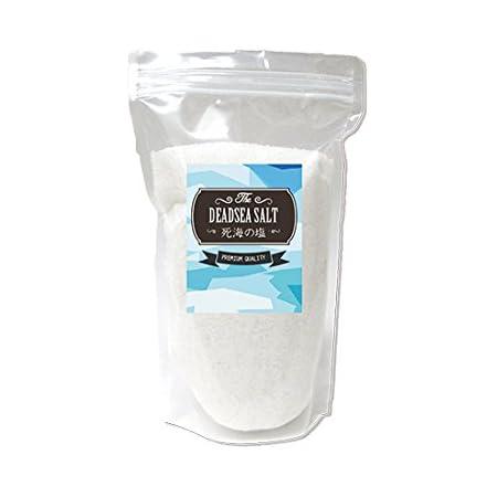 死海の塩 1kg デッドシーソルト ミネラルソルト プレミアムクオリティ(バス用) 計量スプーン付