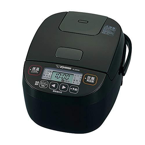 象印マホービン NL-BD05-BA 小容量マイコン炊飯ジャー 3合 ブラック
