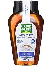 NaturGreen Sirope de Coco Bio - Pack de 3 unidades de 360ml