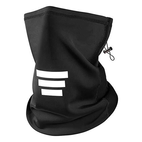 JZJSZB Balaclava Ski mask Windproof Ski Mask Motorcycle Face Scarf, Cycling Outdoor Sports Thermal Windproof (Color : Black, Size : 1pcs)