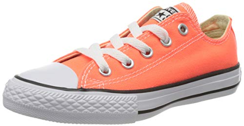 Converse Unisex-Kinder Chuck Taylor All Star Fresh Colors OX Sneaker, Orange, 30 EU