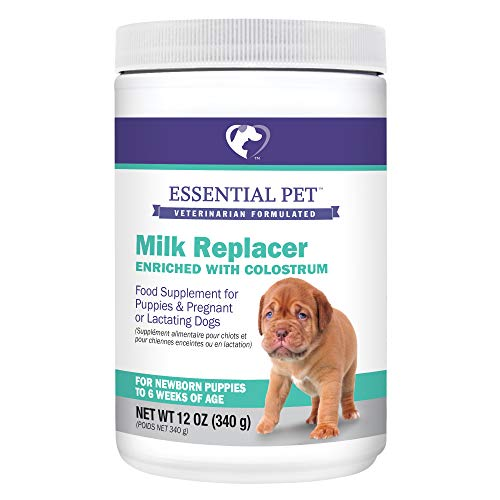 Essential Pet Products Milk Replacer Enriched with Colostrum for Puppies and Pregnant or Lactating Dogs (27209)