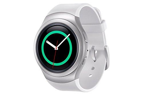 Samsung Gear S2 Sport - Smartwatch de 1.2' (IP68, Super Amoled, Dual Core 1 GHz, 512 MB de RAM, 4 GB memoria interna, Tizen) color blanco