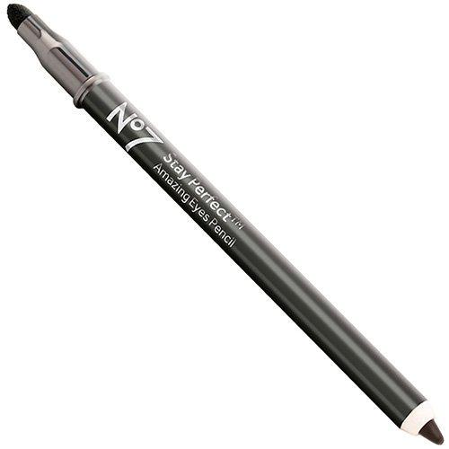Bottes No7 rester Perfect Impressionnante crayon yeux Noir en bottes