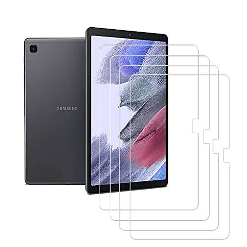 [4 Piezas] Vidrio Templado para Samsung Galaxy Tab Tab A7 Lite T225 (8.7'), película Protectora sin rayones y sin Burbujas, Transparente