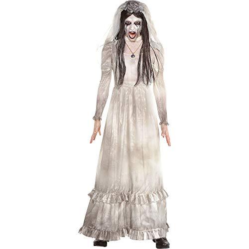 Party City La Llorona Halloween Costume for Women, The Curse of La Llorona with Accessories