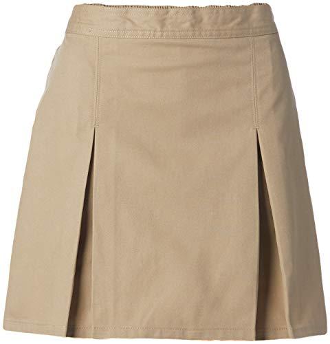 Classroom Uniforms womens Pleated Scooter Skort, Khaki, 9 10 US
