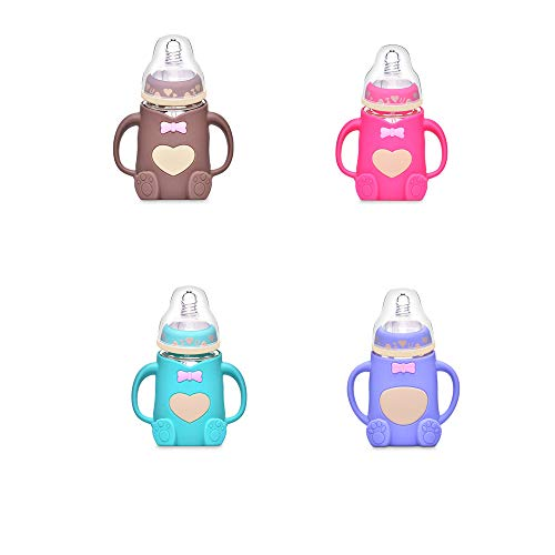 Amazing Deal Luonita Newborn Infant Baby Bottle Natural BPA-Free Feeding Bottle Best Pacifiers and B...