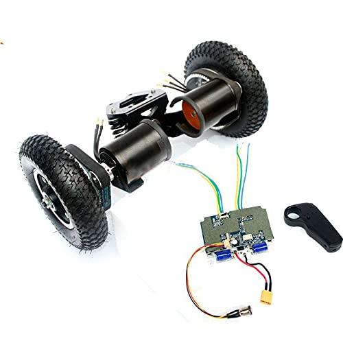 LIBAISI Monopatín eléctrico de 11 Pulgadas eléctrico Motor sin escobillas de 8...