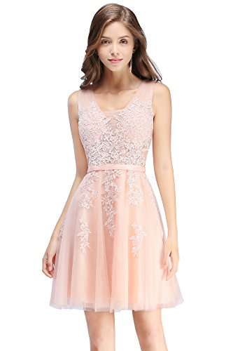 Babyonline Sleeveless Ball Gown Junior's Brithday Party Dress Pink,6