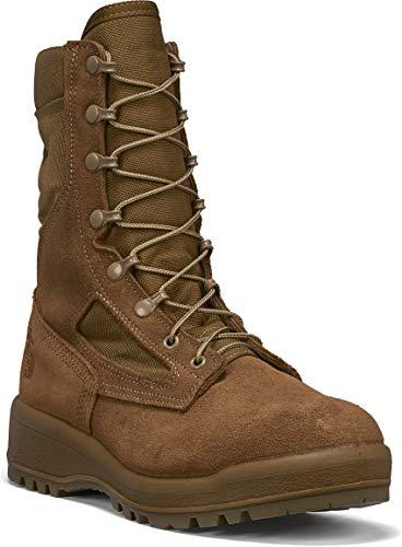 B Belleville Arm Your Feet Men's 500 USMC Waterproof Combat Boot (EGA), Mojave - 11 R