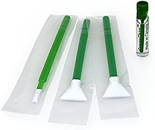 Visible Dust EZ Sensor Cleaning Kit Mini 1.3X / 20 mm Smear Away and Green Vswabs