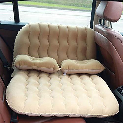 PIG-Girl Auto-luchtmatras, reisbed, opblaasbare achterbankovertrek, sofakussen met pompbedden om te slapen, luchtmatras, draagbaar, camping, outdoor