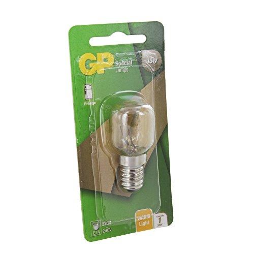 GP Ampoule Universelle de Réfrigérateur (15W, T25, E14)