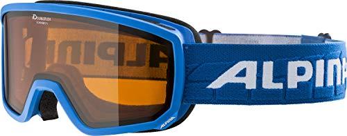 ALPINA Unisex - Erwachsene, SCARABEO S DH Skibrille, lightblue, One size