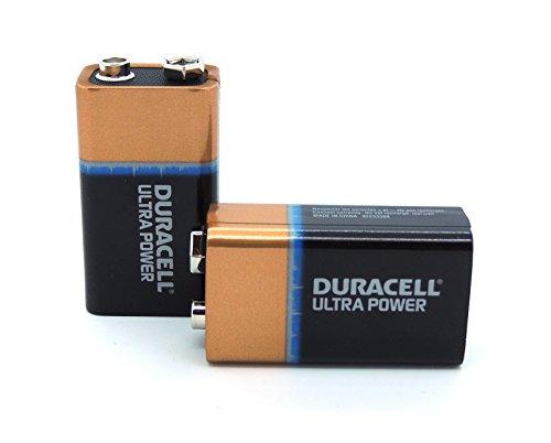 Box mit 5X Duracell Ultra 9V Block Batterie 6LR61 EN22