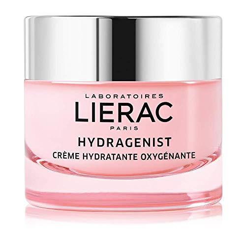 Lierac Hydragenist Crema Viso Idratante con Acido Ialuronico, Ottimale per Pelle Secca, Formato da 50 ml