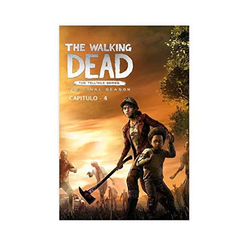 Póster de la televisión de The Walking Dead (18) póster de lienzo para decoración de la pared de la sala de estar, dormitorio, decoración de Unframe: 30 x 45 cm