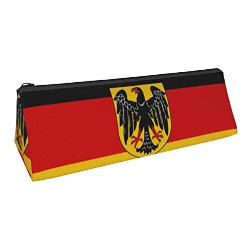 Flagge von Deutschland (Bundesland) Tragbare stilvolle Stifttasche Bleistift Schreibwaren Tasche Kosmetiktasche Tasche