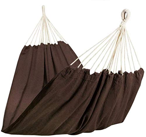 PJY hammock multi-person 210 x 150 cm, load capacity up to 300 kg - beige, brown